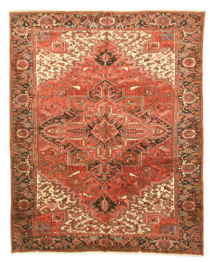Eastern Rugs Heriz X35232 Rust Area Rug