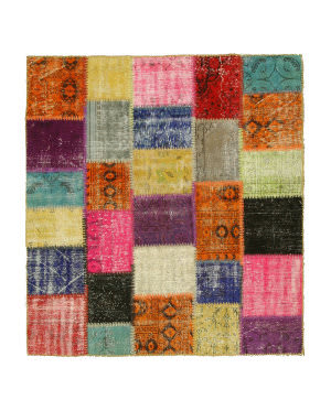 Eastern Rugs Turkish Patchwork X35340 Multi Area Rug