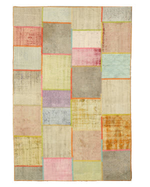 Eastern Rugs Turkish Patchwork X35364 Multi Area Rug