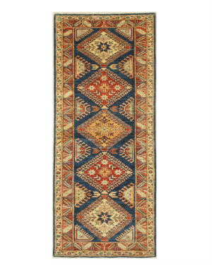 Eastern Rugs Super Kazak X35824 Blue Area Rug