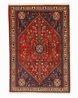 Eastern Rugs Abadeh X35946 Rust Area Rug