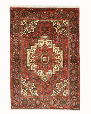 Eastern Rugs Bidjar X35947 Rust Area Rug