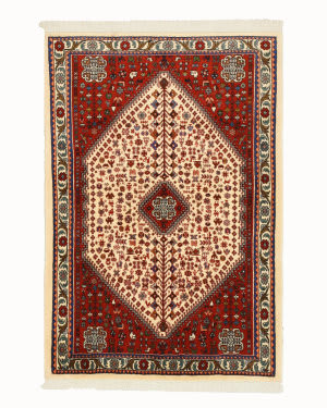 Eastern Rugs Abadeh X35957 Ivory Area Rug