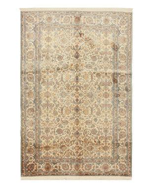 Eastern Rugs Kashmir X35981 Ivory Area Rug