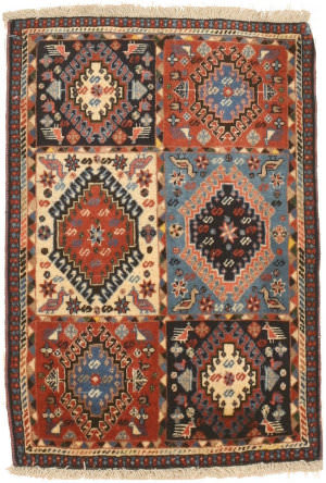 Eastern Rugs Yalameh X36062 Blue Area Rug