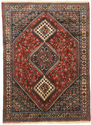 Eastern Rugs Yalameh X36085 Red Area Rug