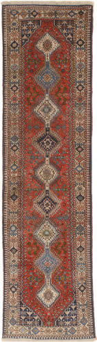 Eastern Rugs Yalameh X36199 Red Area Rug