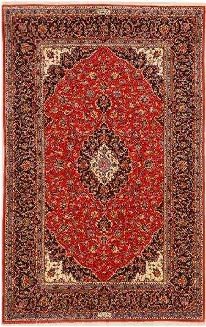 Eastern Rugs Shadsar-Kashan X36216 Red Area Rug