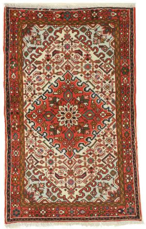 Eastern Rugs Hamadan Yz716 Ivory Area Rug