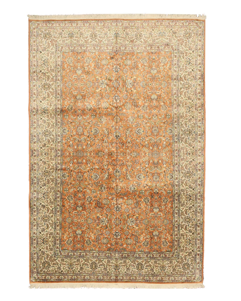 peach area rug squiggle eastern rugs silk x35963 peach area rug 142867