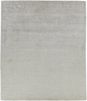 Exquisite Rugs Iris Hand Knotted Light Beige Area Rug