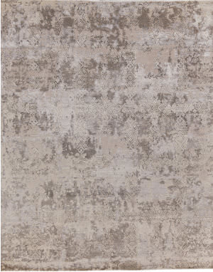 Exquisite Rugs Hundley Hand Knotted Gray - Silver Area Rug