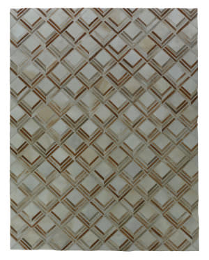 Exquisite Rugs Natural Hair on Hide Beige - Multi Area Rug