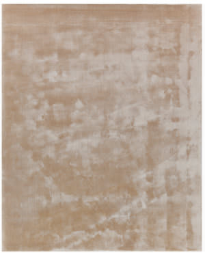 Exquisite Rugs Mohair Hand Woven Light Beige Area Rug