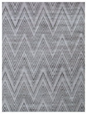 Exquisite Rugs Reflections Hand Woven Silver - Gray Area Rug