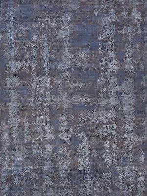 Blue Silk At Rug Studio