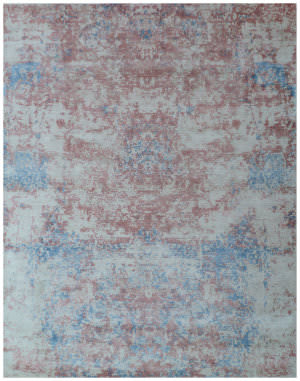 Exquisite Rugs Cassina Hand Woven Ivory - Pink Area Rug