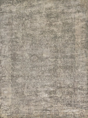 Exquisite Rugs Cassina Hand Woven Charcoal - Beige Area Rug