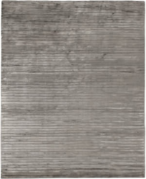 Exquisite Rugs Wave Hand Woven Gray Area Rug