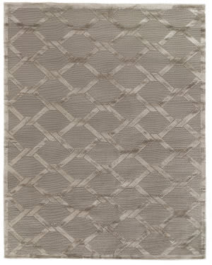 Exquisite Rugs Moreno Hand Knotted Gray - Brown Area Rug
