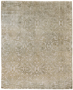 Exquisite Rugs Koda Hand Woven Light Beige Area Rug