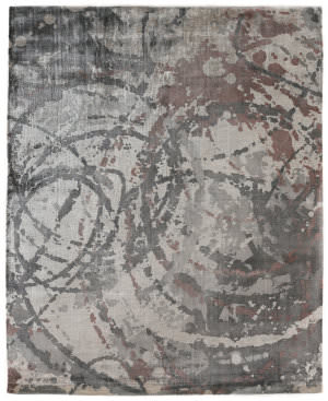 Exquisite Rugs Koda Hand Woven Copper Area Rug