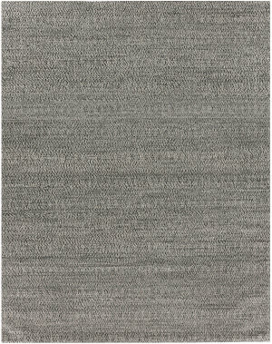 Exquisite Rugs Woven Earth Hand Woven 3430 Black Area Rug