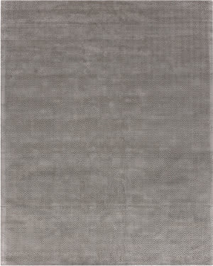 Exquisite Rugs Pavo Machine Made Silver Area Rug
