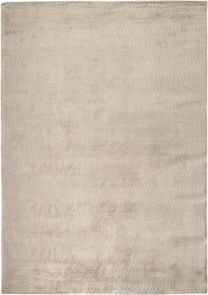 Exquisite Rugs Herringbone Hand Woven Silver Area Rug