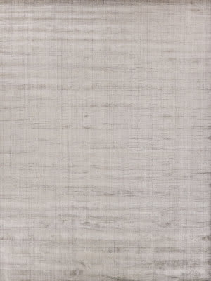 Exquisite Rugs Robin Stripe Hand Woven Ash Area Rug
