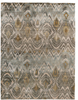 Exquisite Rugs Koda Hand Woven Gray Area Rug