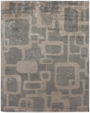 Exquisite Rugs Koda Hand Woven Gray - Taupe Area Rug
