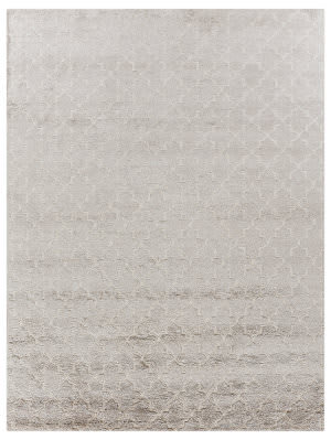 Exquisite Rugs Luxe Look Hand Woven Beige Area Rug