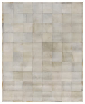 Exquisite Rugs Natural Hair on Hide 8264 White - Multi Area Rug