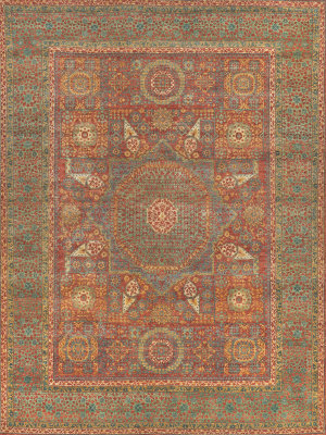 Green Hand Knotted Rugs At Rug Studio
