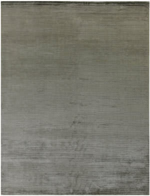 Exquisite Rugs Courduroy Hand Woven Dark Gray Area Rug