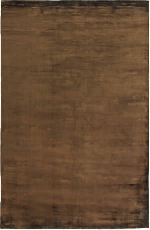 Exquisite Rugs Plain Dove Hand Woven Chocolate Area Rug