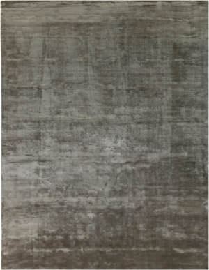 Exquisite Rugs Plain Dove Hand Woven Dark Gray Area Rug