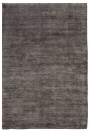 Exquisite Rugs Dove Wool Hand Woven Light Charcoal Area Rug