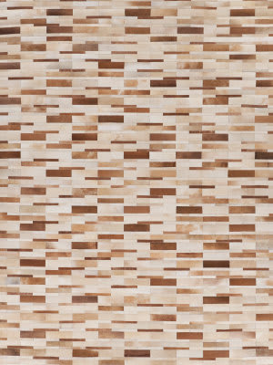 Exquisite Rugs Natural Hair on Hide 9784 Beige - Multi Area Rug