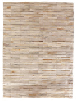 Exquisite Rugs Natural Hair on Hide Ivory - Beige Area Rug