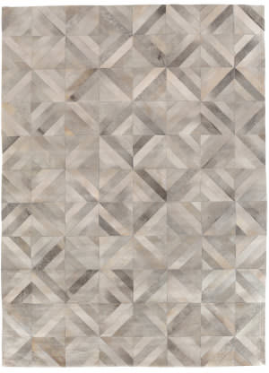 Exquisite Rugs Natural Hair on Hide Silver - Multi Area Rug
