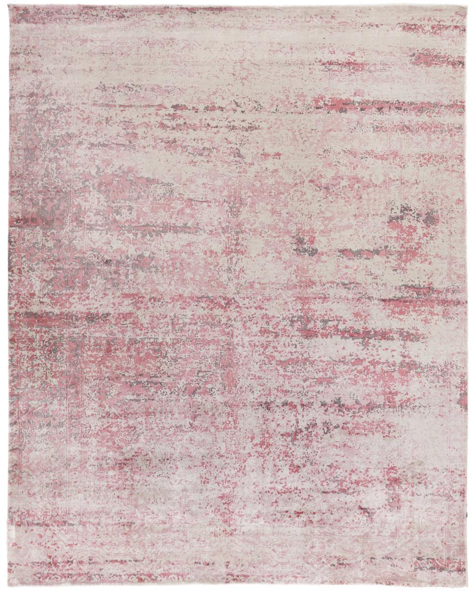 Exquisite Rugs Cassina Hand Woven Pink Rug Studio