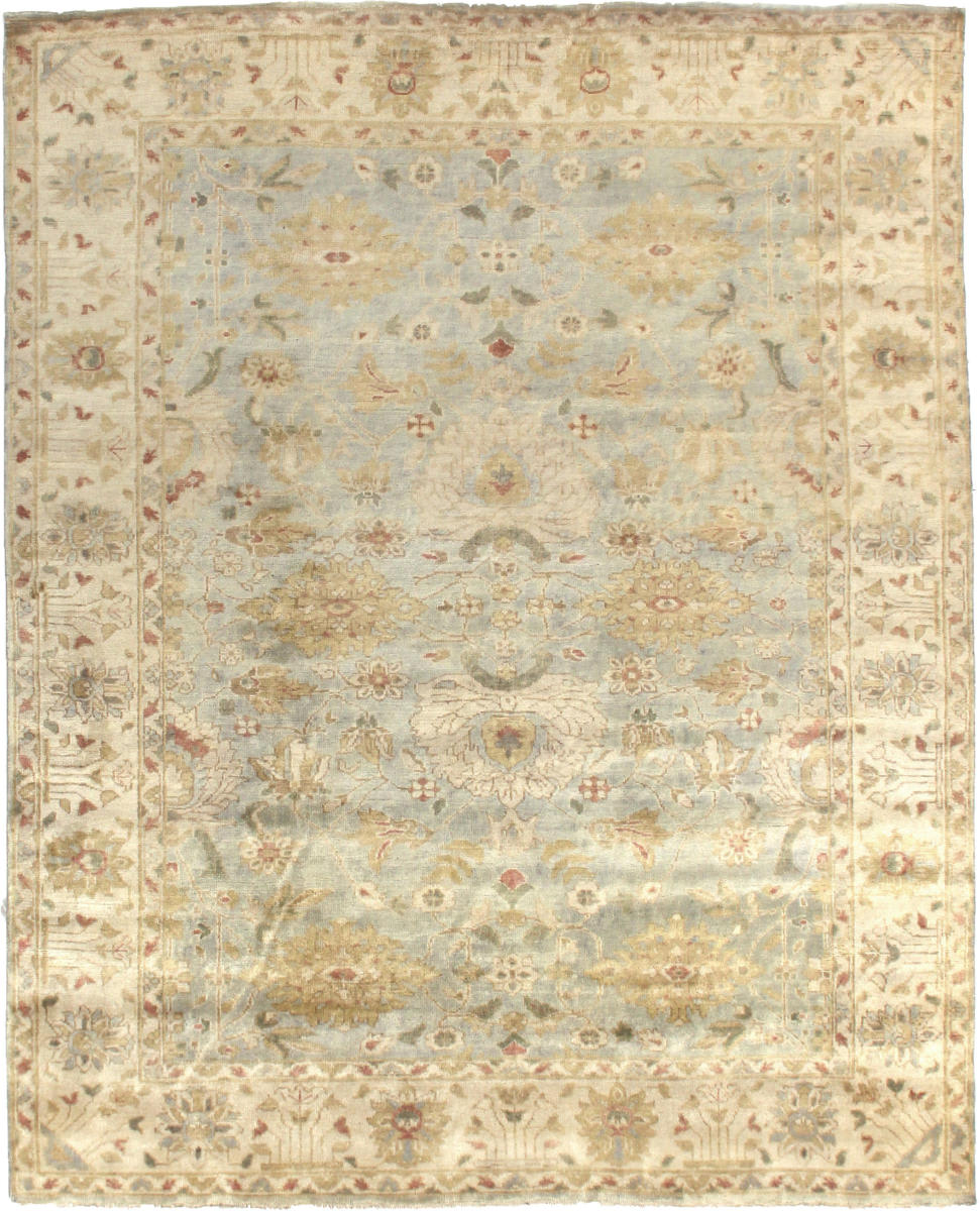 Exquisite Rugs Oushak Hand Knotted 8000
