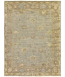 Exquisite Rugs Oushak Hand Knotted 2000 Gray - Brown Area Rug