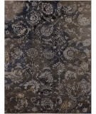 Exquisite Rugs Hundley Hand Knotted 2118 Silver - Gray Area Rug