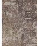 Exquisite Rugs Hundley Hand Knotted 2119 Silver - Gray Area Rug