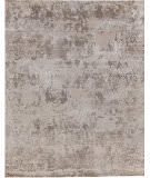 Exquisite Rugs Hundley Hand Knotted 2120 Gray - Silver Area Rug