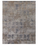 Exquisite Rugs Hundley Hand Knotted 2121 Gray - Turquoise Area Rug
