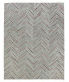 Exquisite Rugs Natural Hair on Hide 2138 Gray - Red Area Rug